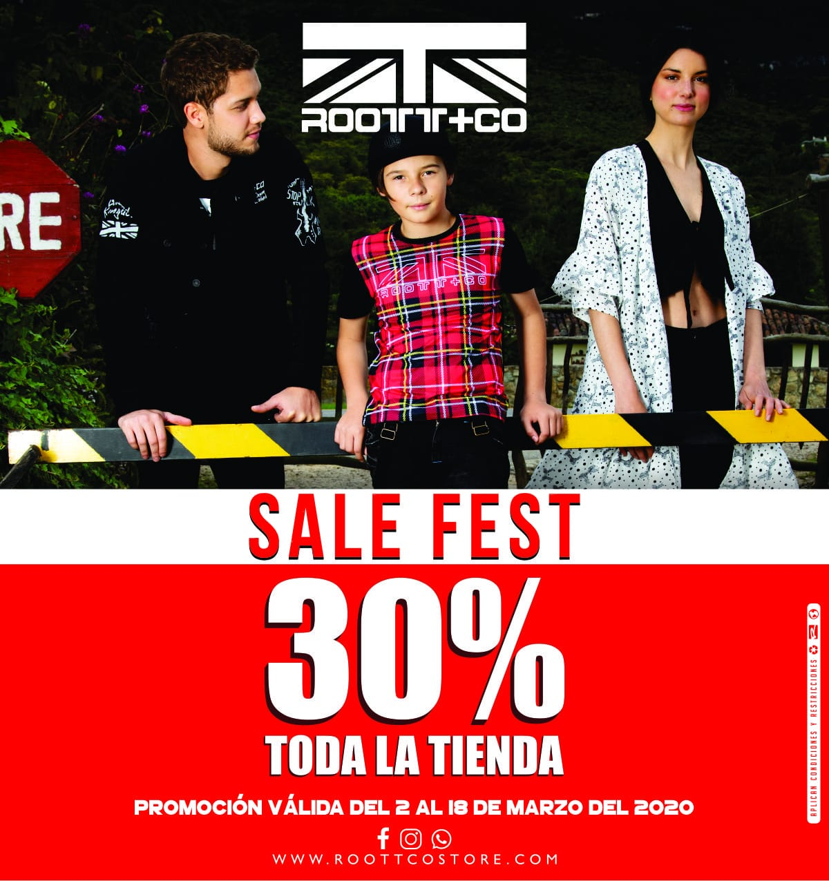 ROOTT+CO 30% DE DESCUENTO EN TODA LA TIENDA - UNICENTRO NEIVA