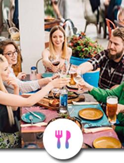Restaurantes, Cafetería y Heladería